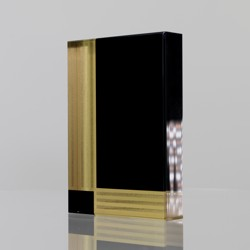 Pinstripe Acrylic Block  150mm