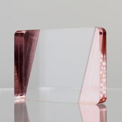 Rose Acrylic Block (2 Sizes)
