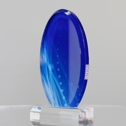 Lapis Acrylic Oval