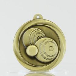 Econo Lawn Bowls Medal 50mm