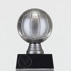 Silver Netball 130mm