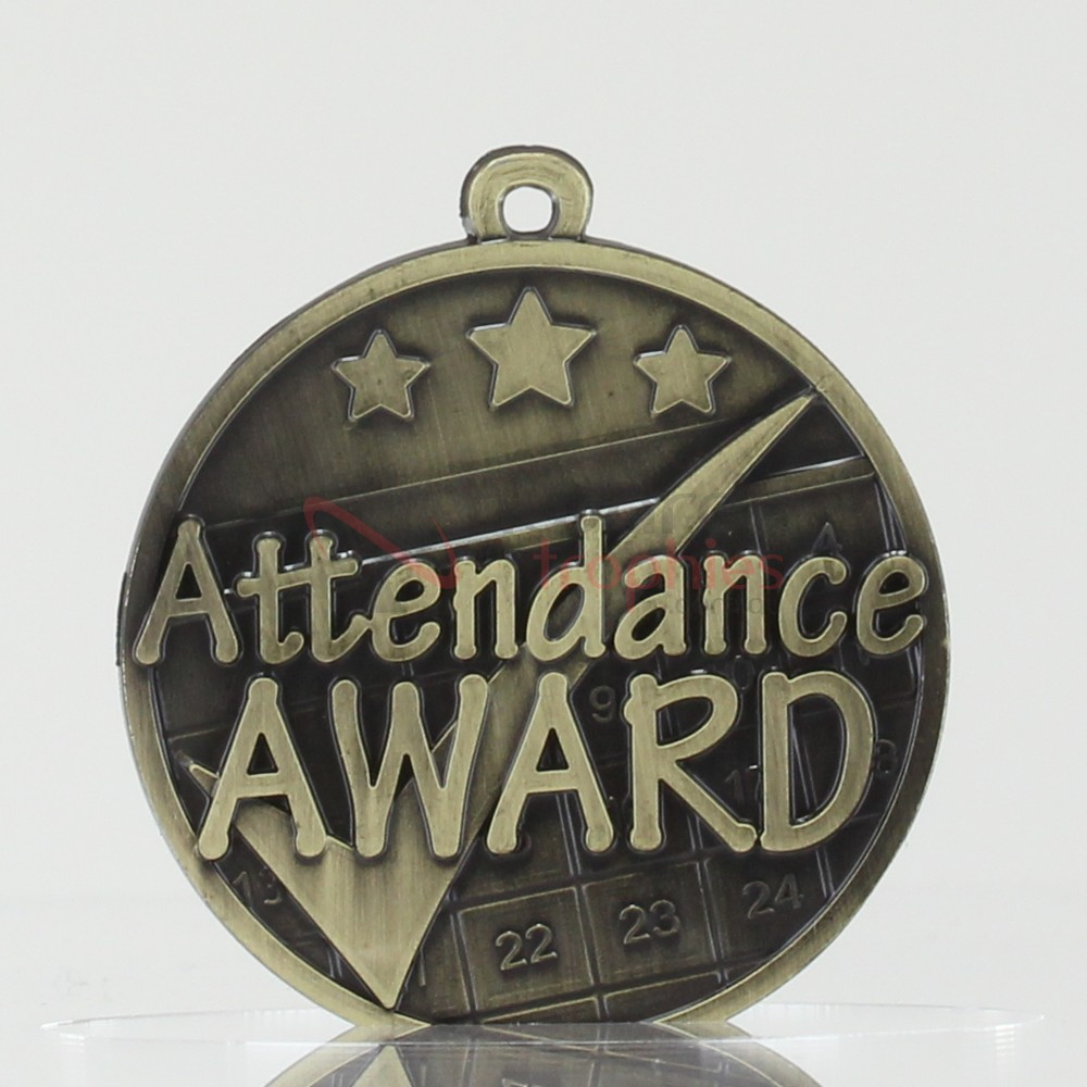 Star Attendance Medal 50mm