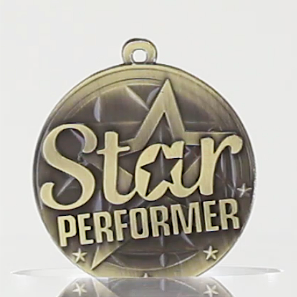 Star Performer Medal 50mm