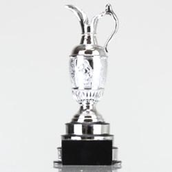Silver Resin Golf Cup 210mm